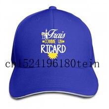Casquette de Baseball pour hommes et enfants, chapeau à visière, cool, unisexe, Frais Comme Un Ricard