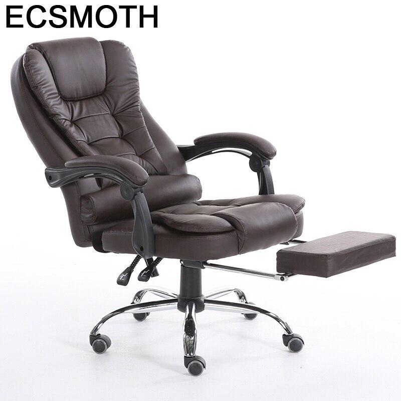 Furniture Fauteuil Cadir Bilgisayar Sandalyesi Oficina De Ordenador Leather Poltrona Silla Gaming Cadeira Massage Computer Chair