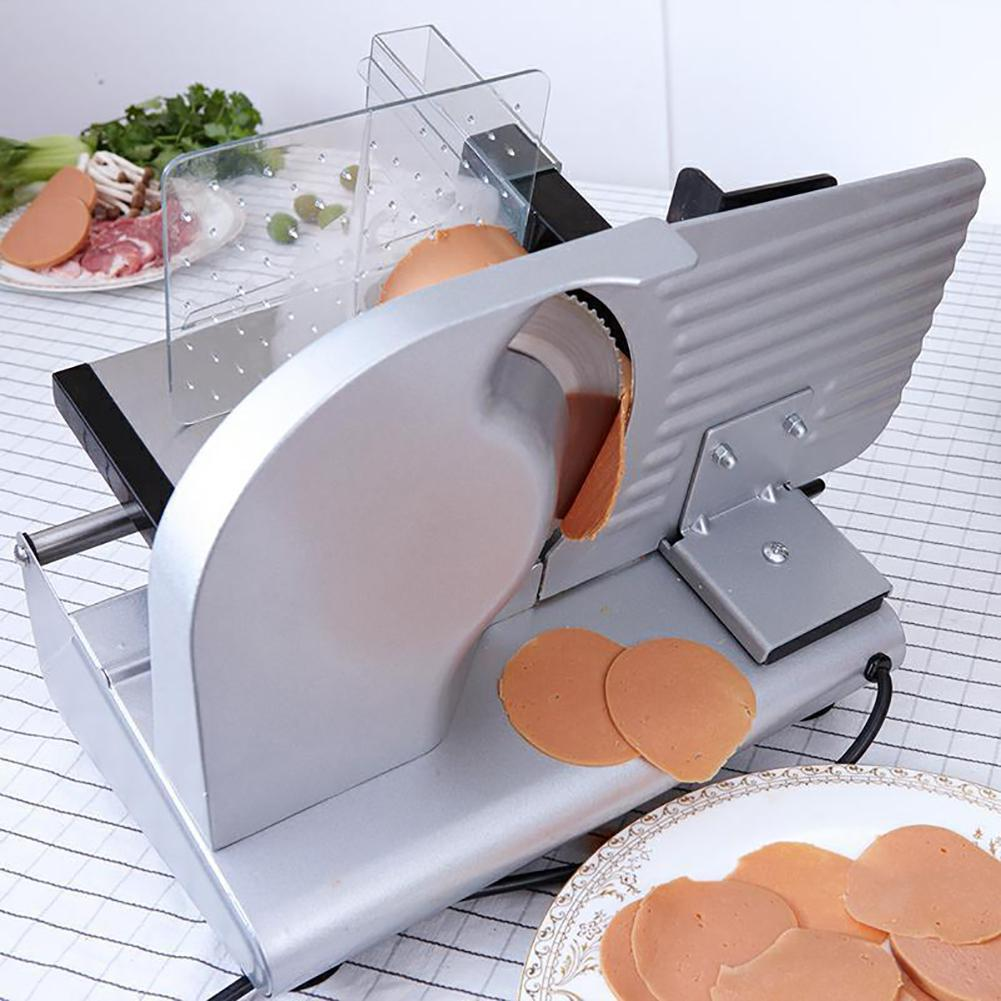 5.5kg 43 *28 *34cm 220V Electric Cutting Slicer For Sheep Cattle Bread Ham At Factory Home