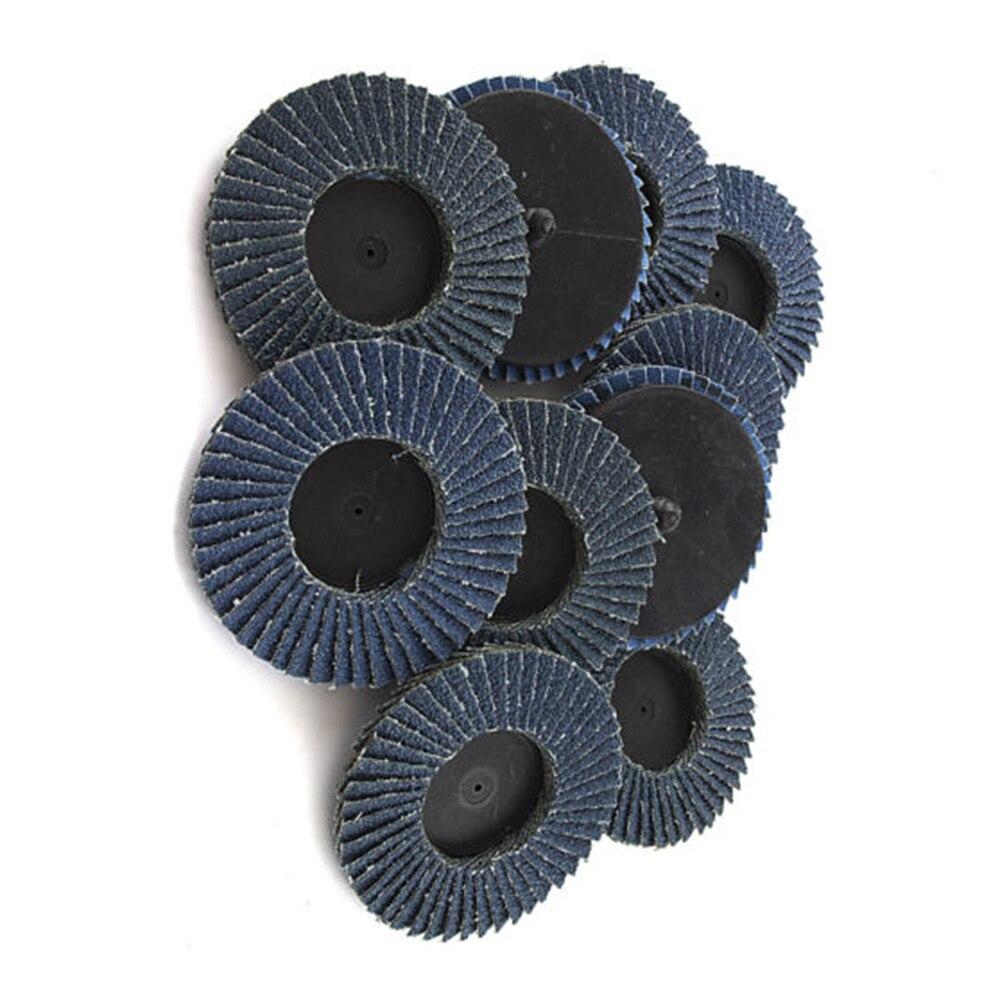 10 шт. шлифовальные диски Полировочный шлифовальный диск Pad Шлифовальные части ржавчины удаление краски
