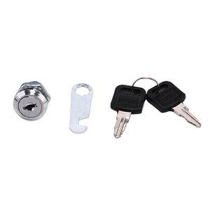 1 комплект замки с ключами кулачковые Цилиндрические замки двери шкафа для почтового ящика, шкафа ящика безопасности замок двери шкафа мебе...