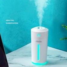 Eloole 280ml umidificador de ar portátil névoa fabricante humidificador aroma difusor óleo essencial nano spray com bateria para casa carro