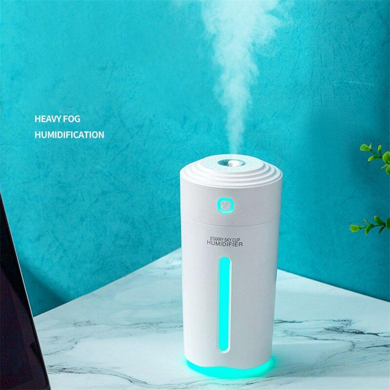 Eloole 280ml umidificador de ar portátil névoa fabricante humidificador aroma difusor óleo essencial nano spray com bateria para casa carro|Umidificadores|   -