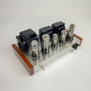 Image 5 - 2020 Nobsound Home Audioเครื่องขยายเสียงหลอดสแตนเลสสตีล5Z4P + 6H8C + 6P3Pติดตั้งหลอดเอาต์พุต8W + 8W AC110V/220V