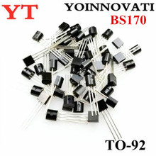 1000 יח\חבילה BS170 כדי 92 רכיבי Fet MOSFET N CH 60V 500MA הטוב ביותר באיכות