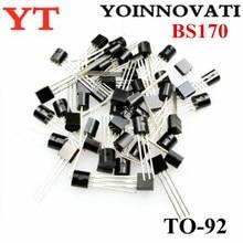 1000 Stks/partij BS170 Om 92 Fet Mosfet N CH 60V 500MA Beste Kwaliteit