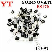 1000 adet/grup BS170 TO 92 fet MOSFET N CH 60V 500MA en iyi kalite