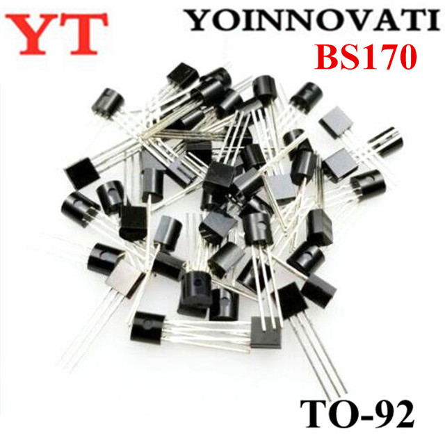 1000pcs/lot BS170 TO 92 FETs MOSFET N CH 60V 500MA Best quality