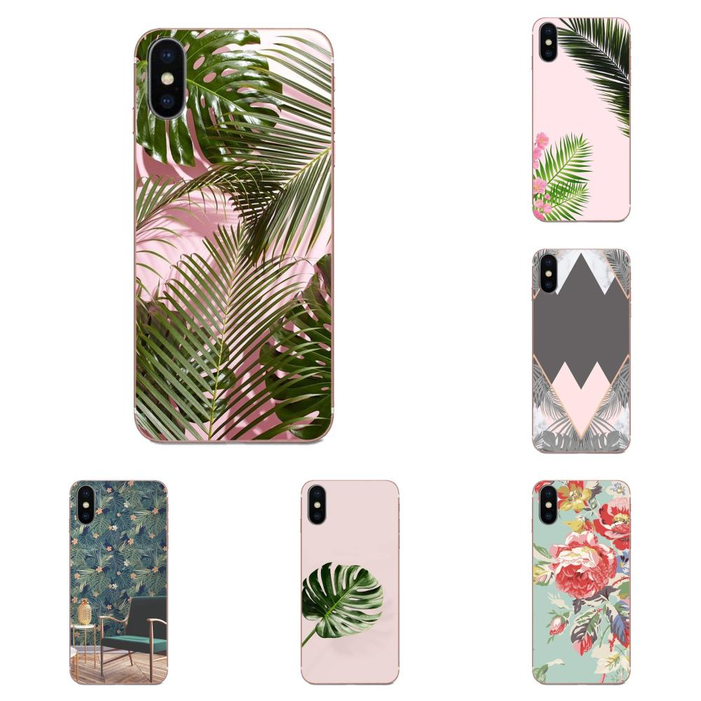 Tropic Beige And Rose Gold Wallpaper For Apple Iphone 11 Pro X Xs Max Xr 4 4s 5 5c 5s Se 6 6s 7 8 Plus Soft Design Half Wrapped Cases Aliexpress