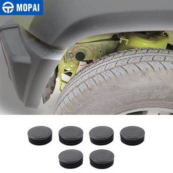 MOPAI ABS Car Chassis Round Hole Dust Waterproof Plugs Protection Cover for Suzuki Jimny 2019+ Car Exterior Accessories
