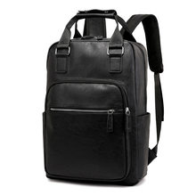 Men Backpack USB Charging Wateproof Backpack Male 15.6 Inch Laptop Bag Business Large Capacity Travel Bag Men's School Students(China)