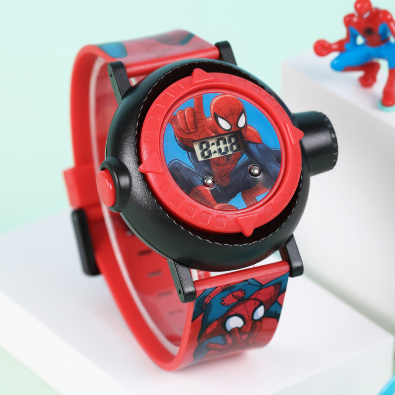 Big Sale Spider Men MARVEL Avengers Super Hero Kids Digital Watch Boy Toy Friend Love Buddy Teen Clock Smart Child Time Junior enlarge
