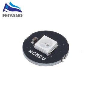 Светодиодный RGB Ring 1 бит 8 бит 12 бит 16 бит 24 бит WS2812 5050 RGB светодиодный + интегрированный драйвер RGB светодиодный модуль контроллера для Arduinos