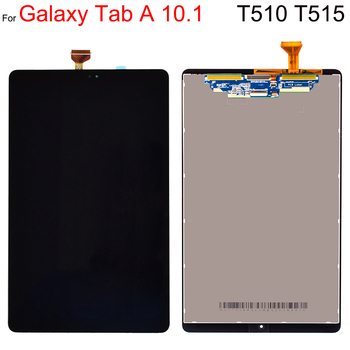 Сменный ЖК-экран 10,1 дюйма для Samsung Galaxy Tab A, 10,1 (2019), Wi-Fi, T510, T510N, сенсорный ЖК-дисплей в сборе, T515