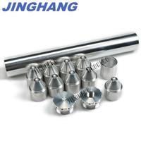 1 3/8X10 FUEL TRAP/SOLVENT FILTER For NAPA 4003, WIX 24003 1/2 28, 5/8 24 6061 T6 Aluminum Silver