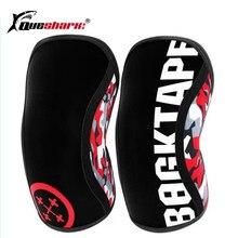 Profissional 7mm neoprene esportes joelheiras compressão levantamento de peso pressão crossfit joelheiras treinamento suporta 14 cores