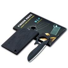 20 шт./лот Походный нож аварийный карманный нож Портативный Орлиный рот форма Кредитная карта Нож Olecranon Орел складной палец нож