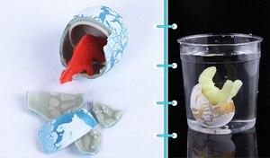 ANGRLY 20 шт детские игрушки, яйцо динозавра с водяным люком, инкубационное животное, детское расширение яиц динозавра, инкубаторы, подарочная к...