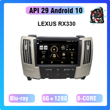 9 ''Android 10,0 8-Core 6 + 128G GPS Navigation Multimedia player auto radio Für LEXUS RX330 2004-2008 lüfter