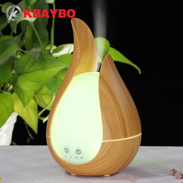 KBAYBO Luftbefeuchter Aroma Ätherisches Öl Diffusor 7 Farben LED nacht Licht kühlen nebel maker Aromatherapie für Home office schlafzimmer