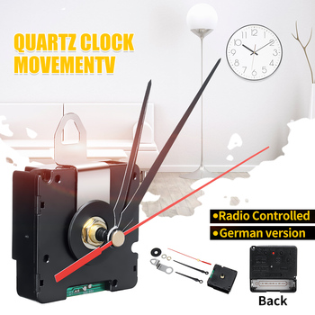 Nuevo reloj de cuarzo DCF versión alemana de 56x56x19mm sólo para la Región Europea movimiento controlado por Radio para Europa HR9624