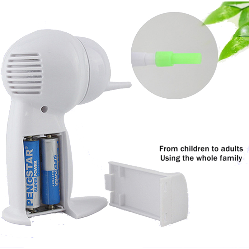 Electric Vacuum Cordless Ear Cleaner Ear Wax Remover Tools Safety Ear Cleaning Device Family Ear Care Reusable Wireless