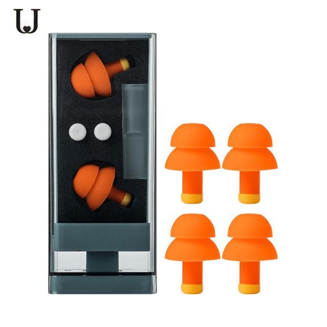 Youpin Jordan&Judy Earplugs for Sleep Noise Cancelling Sleeping Earplugs Comfortable Reusable Rebound Ear Plugs Noise Filter