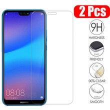 Verre trempé à couverture complète pour Huawei P20 P30 P40 Lite verre protecteur décran pour Huawei P20 P20 Pro Honor 9 10 Lite Honor 8X 9X