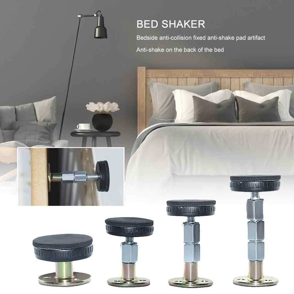 2PCS Bed Stabilizer Anti-shake Self-adhesive Adjustable Fixer Support Tool for Room Wall Furniture