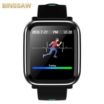 Q58 3D Dynamic Smart Watch  UI Blood Pressure Heart Rate Monitor Sport Fitness Tracker Smart Health Wearable Device Smartwatch