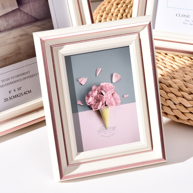 Beautiful Nordic Picture Frame Color: N Size: 6 inch