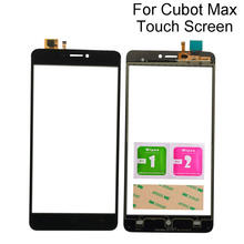 Original 6.0Inch Touch Screen Repair For Cubot Max Touch Screen Digitizer Sensor Outer Glass Lens Panel Tools 3M Glue