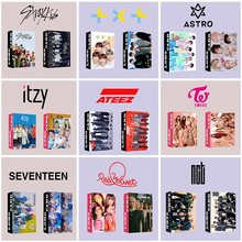30 Stks/set Kpop Ateez Lomo Kaart Verdwaalde Kinderen GOT7 Tweemaal Txt Nct Itzy Photocard Hd Photo Print Album Photocard Voor fans Geschenken(China)