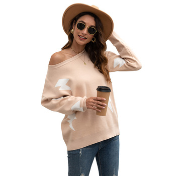 2020 Sweater ladies crew neck cutout knitted jumper pullover women womens sweater women sweaters and pullovers streetwear o-neck цена 2017