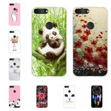 For Alcatel 1S 2019 Phone Case Ultra-slim Soft TPU Silicone 1s Cover Panda Patterned alcatel Bumper Funda