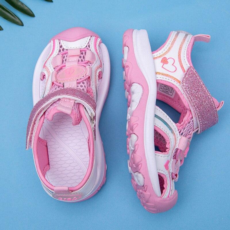 Children Soft-Sole Korean-style Little Girl CHILDREN'S Shoes Girls Summer Sandals 2020 Fashion Big KIDS Princess Shoe
