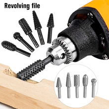 Drill Polishing-Accessories Thorn-Head Rotating-Woodworking-Tools Rotary-Files Electric-Grinding