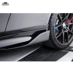Image 5 - Carbon Fiber Side Skirts For Benz C class c250 W204 W205 C205 c63 AMG E class E350 coupe W212 W207 W213 W238 side spoiler wing