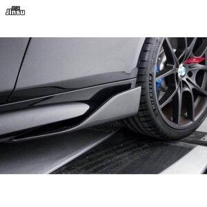 Image 5 - Carbon Side Röcke Für Benz C klasse c250 W204 W205 C205 c63 AMG E klasse E350 coupe W212 W207 w213 W238 seite spoiler flügel