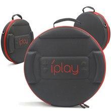 Nintend interruptor anel saco de armazenamento eva caso portátil anel con crossbody bolsa de fitness anel base capa escudo ns saco de viagem