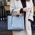 Große Kapazität Frauen Schulter Tasche 100% Echtem Leder Täglich Casual Einkaufen Taschen Mode Hobos Handtasche Schwarz Messenger