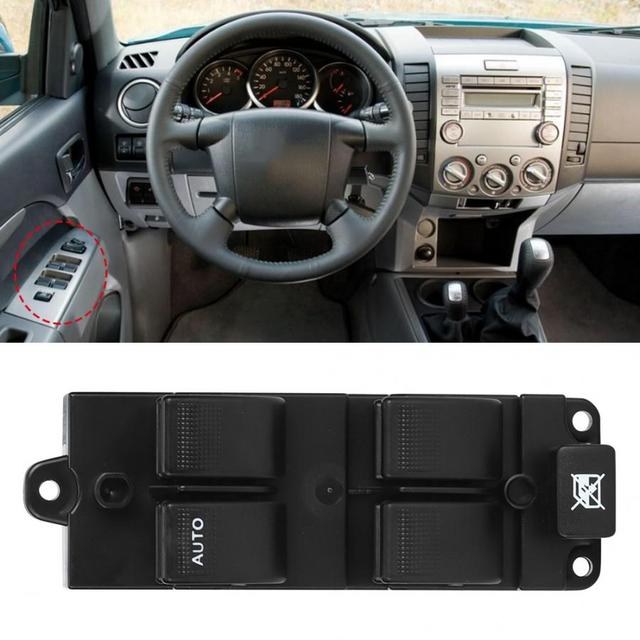Electric Power Window Master Control Switch Fit for Ford Ranger 2006 2007 2008 2009 2012 UE8D-66-350 Left Power Window Button