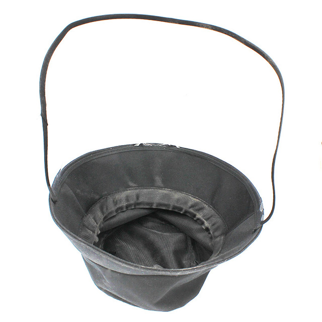 Spring Summer Women Hat Unisex Flat Polyester Bucket Hat For Men Women Travel Sun Hat Female Male Fisherman Cap BH002