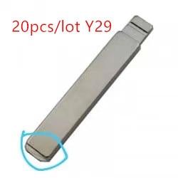 20 шт./лот KD дистанционный ключ Y29 для citroen и peugeot key
