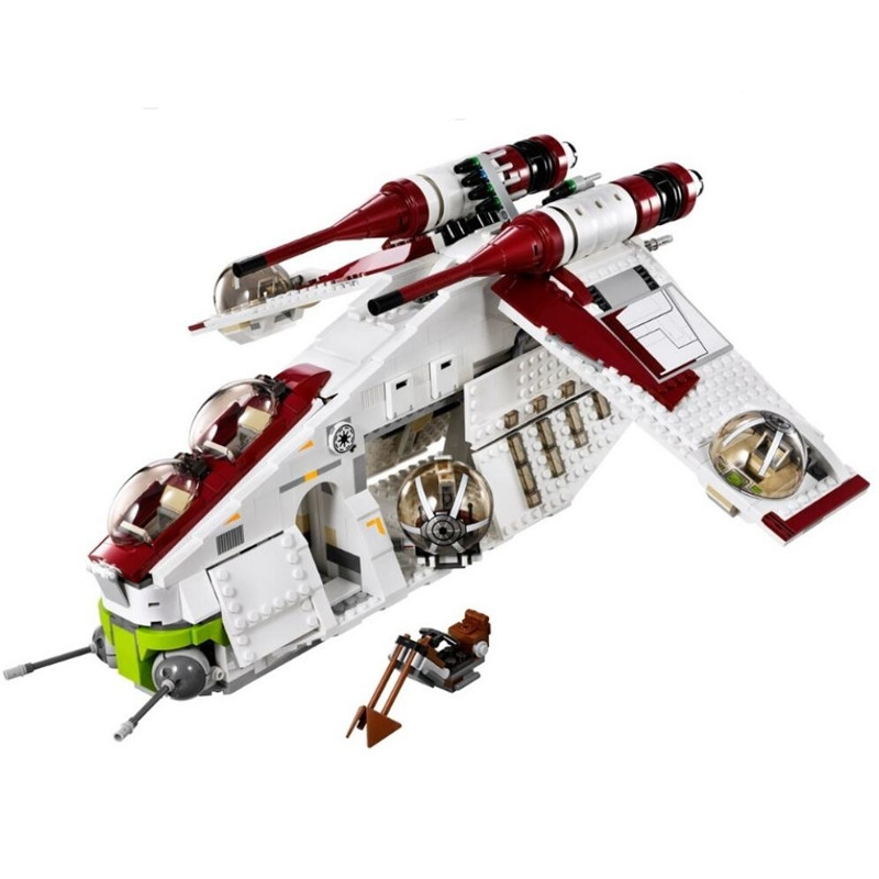 New <font><b>05041</b></font> Star Genuine Wars Tie Fighter Educational Building Blocks Bricks Toys 75021 Gifts image