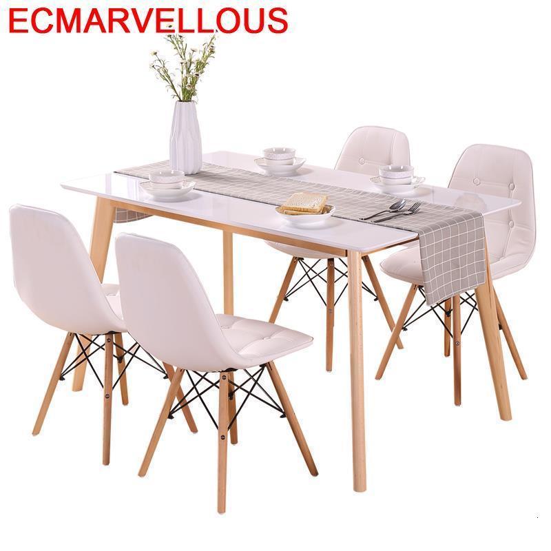 Da Pranzo Salle Manger Moderne A Langer Piknik Masa Sandalye Eettafel Retro Wooden Mesa De Jantar Tablo Bureau Dining Table