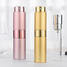 6PCS 8ML Portable Mini Refillable Perfume Bottle  cosmetic spray bottle travel sub-bottle liner glass support Wholesale