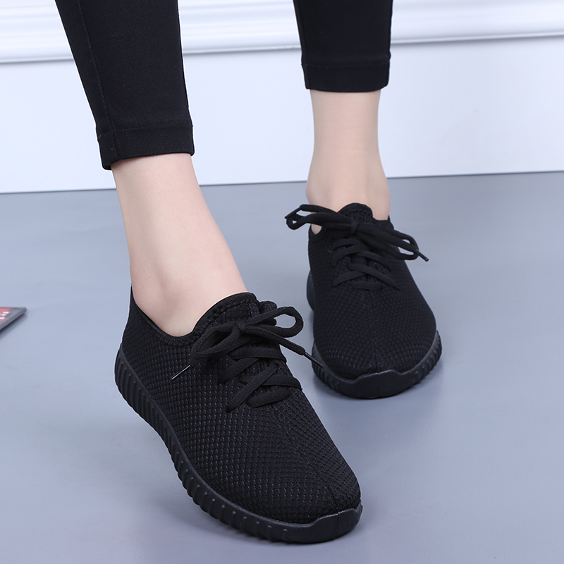 Tenis Feminino 2019 Summer Women Tennis Shoes Air Mesh Woman Trainers Chaussure Femme Girl Breathable Sneakers Shoes Plus Size41