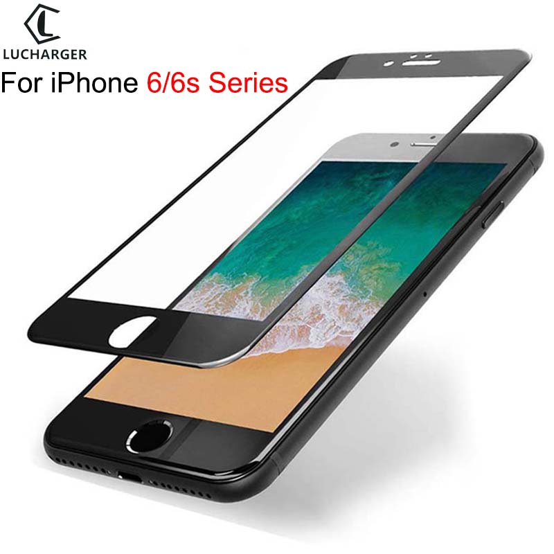 protective glass for iphone 6 6s plus tempered glas screen protector on i phone 6plus 6splus 6 s s6 <font><b>film</b></font> iphone6 <font><b>iphone6s</b></font> aphone image