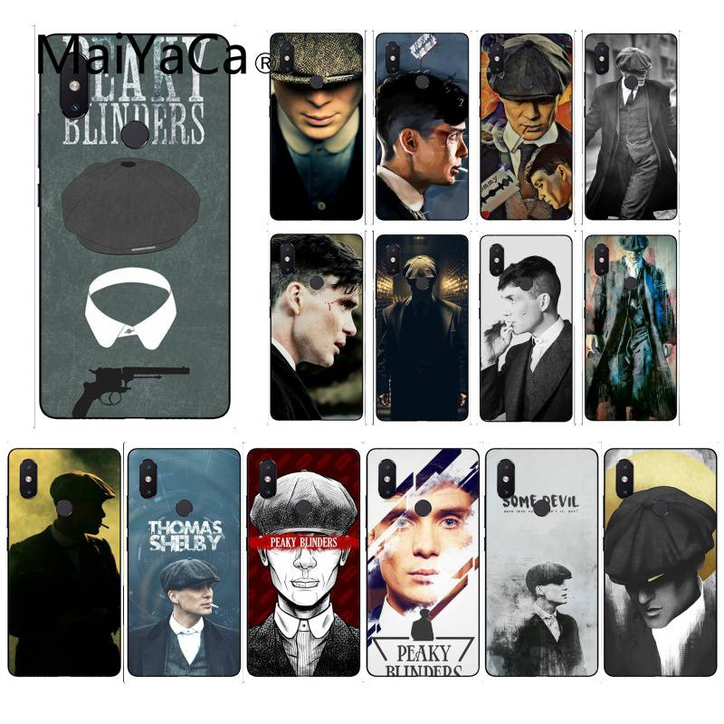 MaiYaCa Sharp Visors Coque PEAKY BLINDERS TPU Soft Silicone Phone Case Cover For XiaoMi 6 MIX2 8SE K20 REDMI 5A NOTE4X 7 6A
